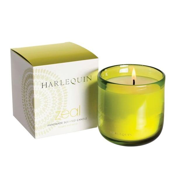 Świeczka Harlequin, wanilia z mchem i bursztynem