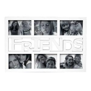 Ramka na 6 zdjęć Friends, biała