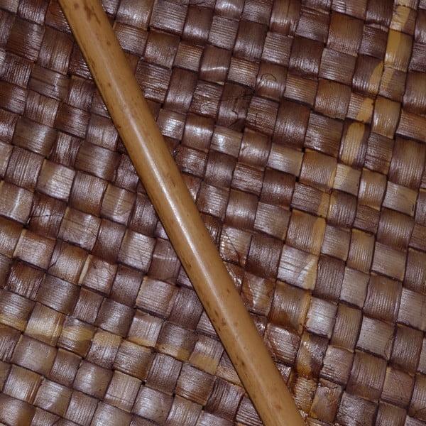 Trzcinowa dekoracja Cane Brown, 200 cm