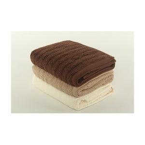 Komplet 3 ręczników Pierre Cardin Earth, 50x90 cm