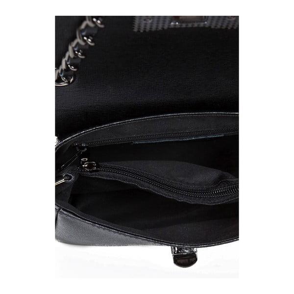 Skórzana torebka Bow Black