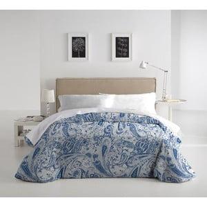 Zestaw pościeli i poduszki Marisma Azul, 140x200 cm