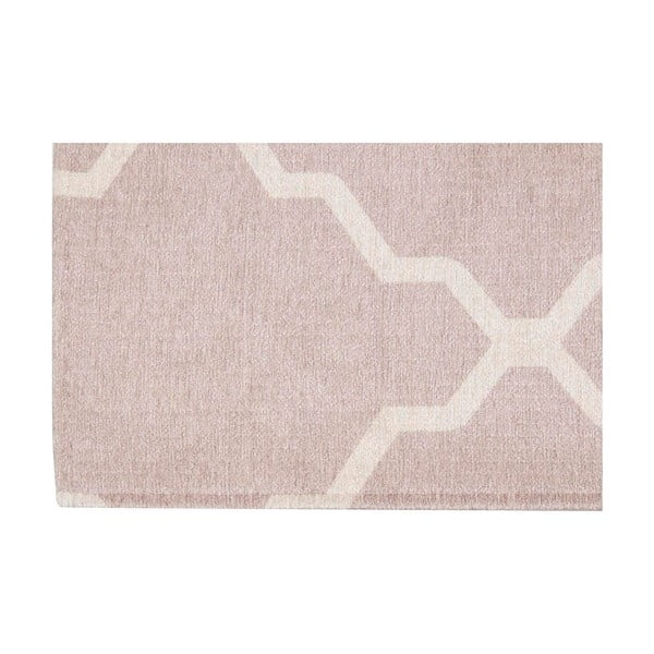 Wytrzymały dywan kuchenny Webtapetti Lattice Sand, 60x220 cm