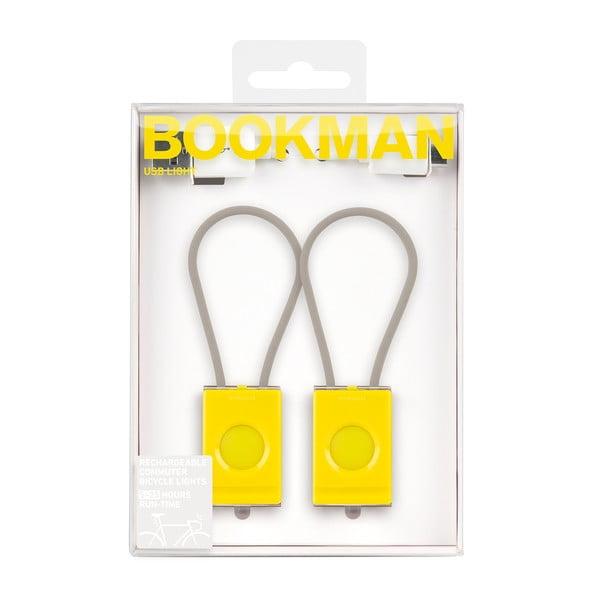 Żółte USB światełko Bookman