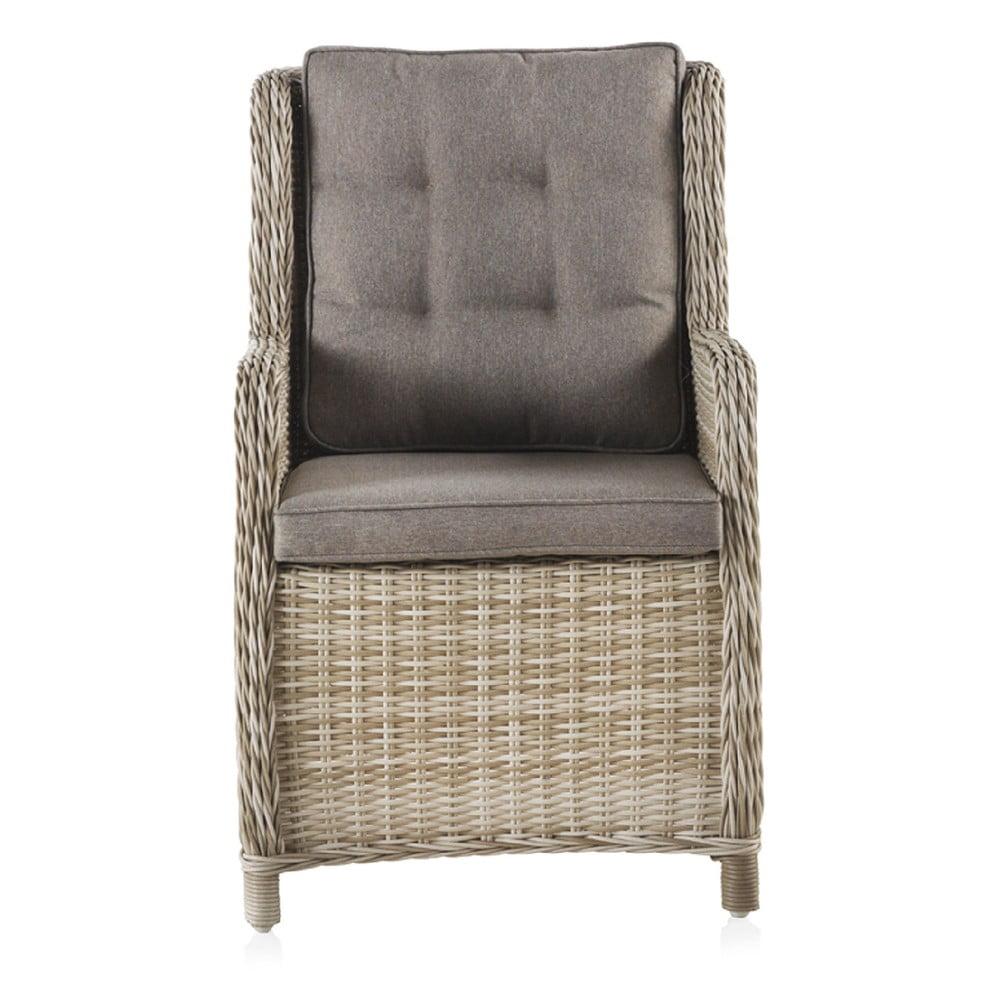 Fotel ogrodowy z poduchami Geese Elisa, szer. 60 cm