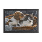 Wycieraczka Hanse Home Animals Dog and Cat, 40x60 cm