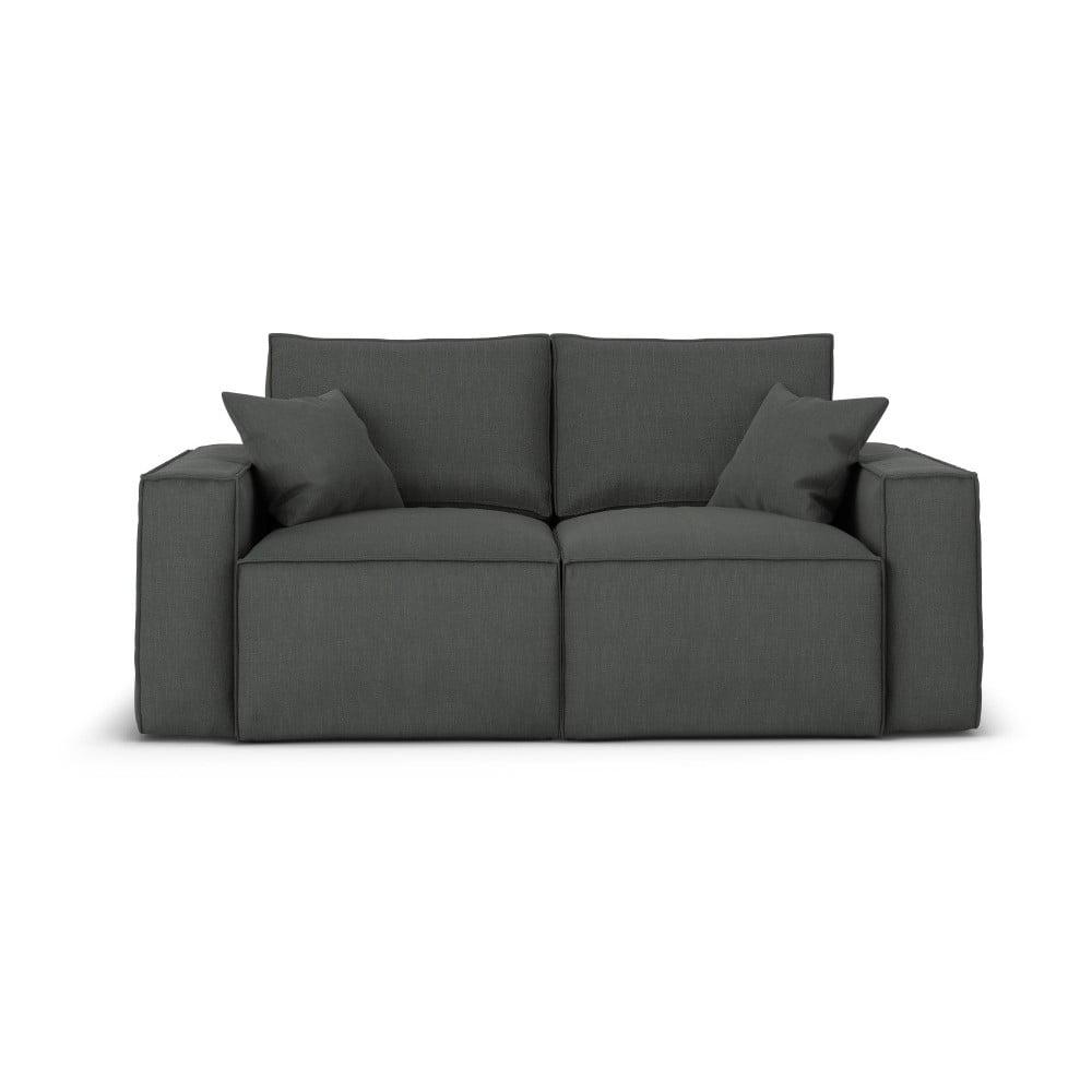 Ciemnoszara sofa Cosmopolitan Design Miami, 180 cm