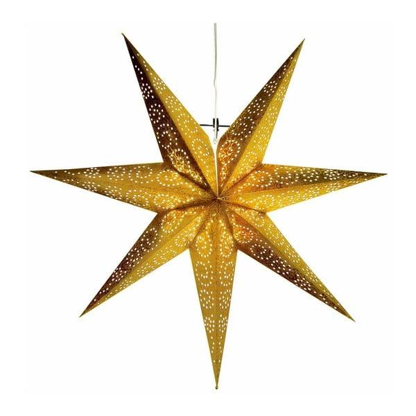 Gwiazda świecąca Antique Gold, 80 cm
