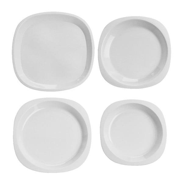 Zestaw piknikowy Clear White, 51 ks