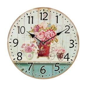 Zegar Pinkie Rose, 34 cm