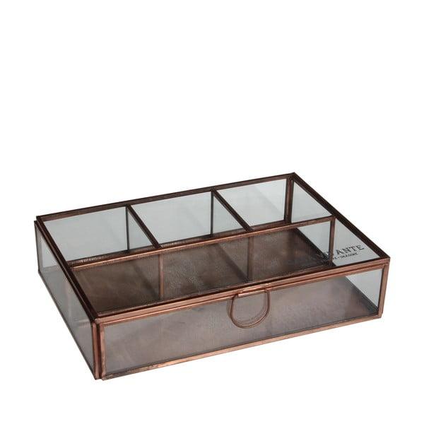 Szklane pudełko Grazia, 22x15 cm