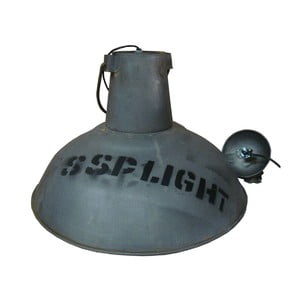 Lampa sufitowa Old Light Lamp Grey Blue