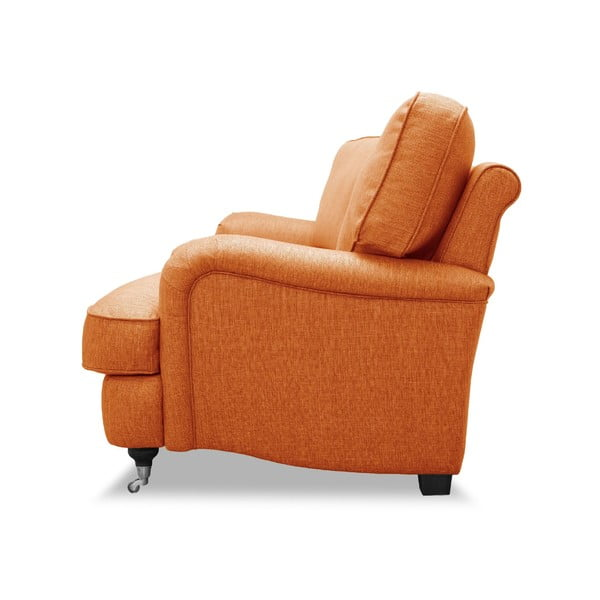 Pomarańczowa sofa VIVONITA William