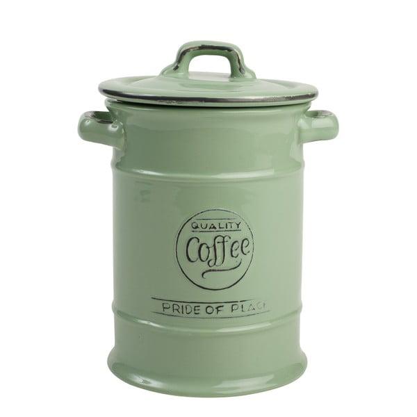 Zielony pojemnik ceramiczny na kawę T&G Woodware Pride Of Place