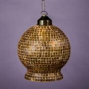 Lampa wisząca Złota mozaika