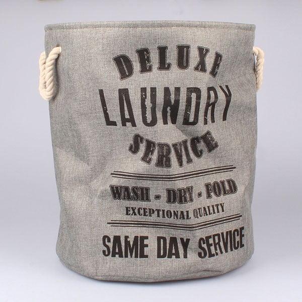 Kosz na pranie Laundry Service, szary