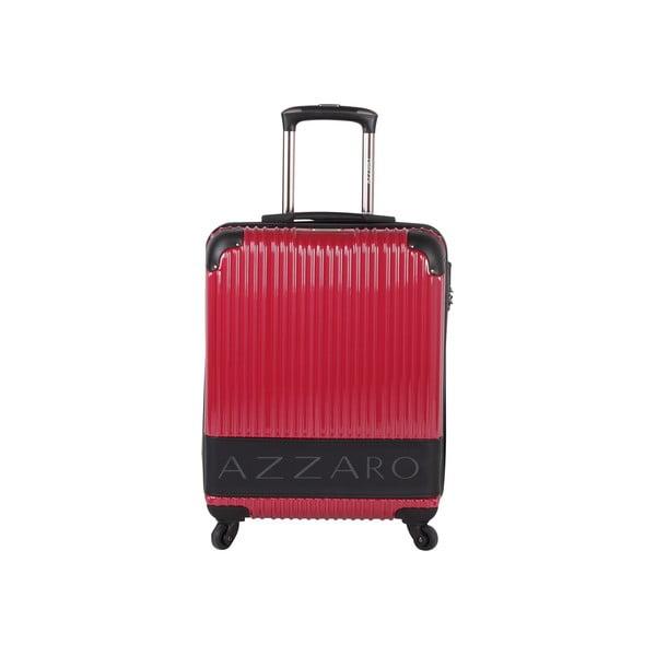 Walizka Azzaro Trolley Red, 43 l