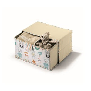 Beżowe pudełko Cosatto Baby, 20x30 cm