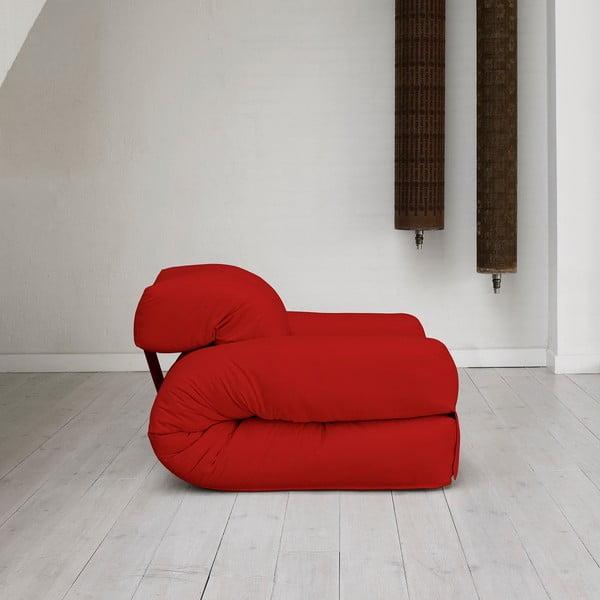 Fotel rozkładany Karup Hippo Red