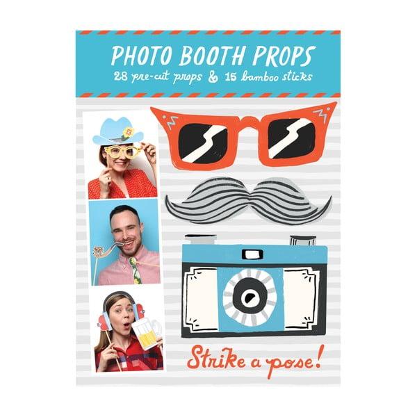 Rekwizyty (nie tylko) do zdjęć Galison Mudpuppy Photo Booth Props Strike a pose!