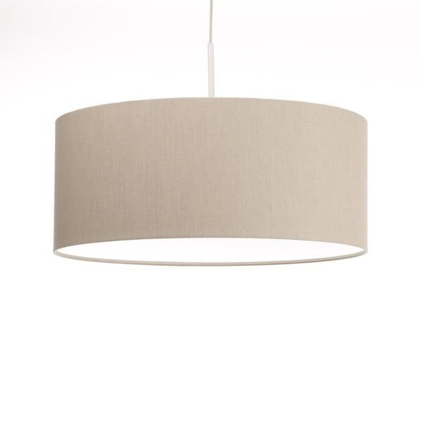 Kremowa lampa wisząca 4room Artist, zmienna długość, Ø 60 cm