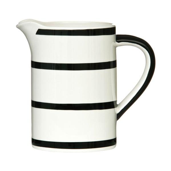Czarno-biały dzbanek Premier Housewares