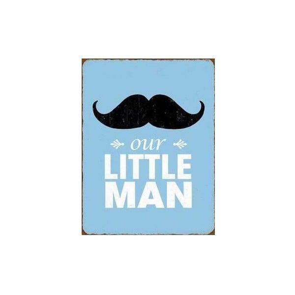 Blaszana tablica Little Man 35x25 cm