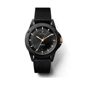 Zegarek damski z czarnym paskiem skórzanym Triwa Midnight Skala