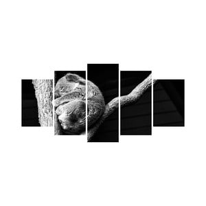 Wieloczęściowy obraz Black&White no. 60, 100x50 cm