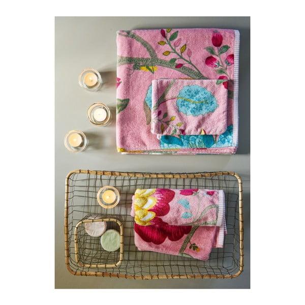 Ręcznik Floral Fantasy Pink, 70x140 cm