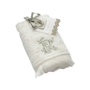 Ręcznik z inicjałem R, 30x50 cm