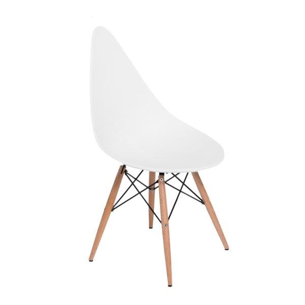 Zestaw 2 białych krzeseł D2 Rush DWS