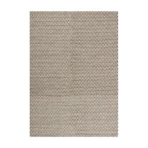 Wełniany dywan Charles Smoke, 140x200 cm