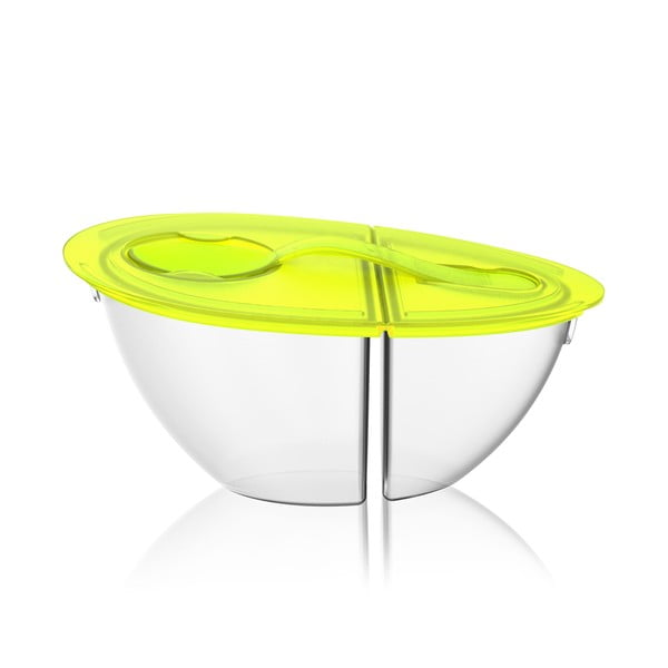 Miska na jogurt Flip N' Pour Lime