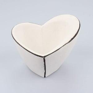 Betonowa doniczka Small Vintage Heart