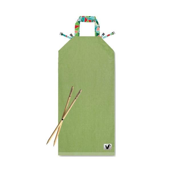 Plażowy leżak Origama Olive Geo