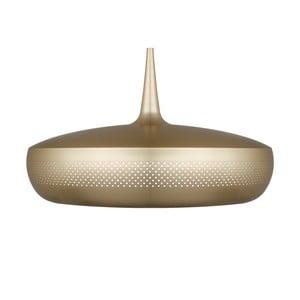 Lampa wisząca w kolorze mosiądzu Clava Dine Brushed Brass
