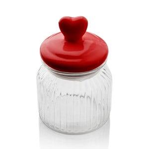 Pojemnik z serduszkiem Sabichi Heart Glass, 600 ml