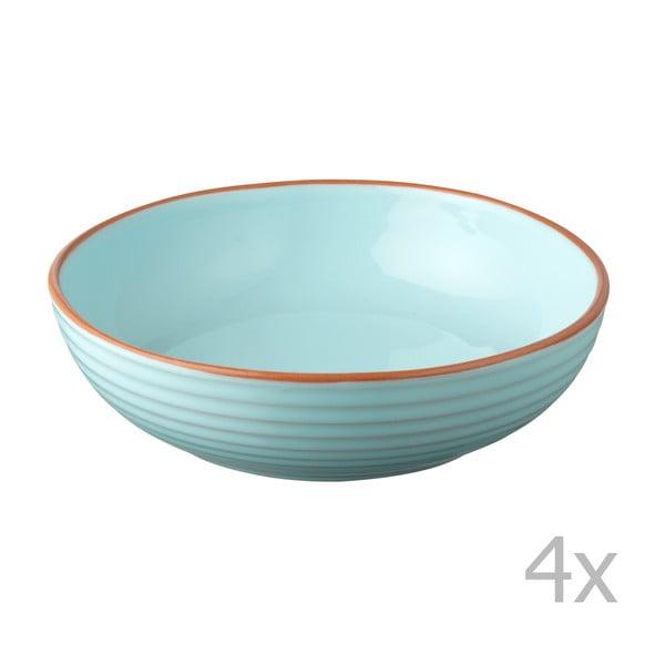 Komplet 4 misek Jamie Oliver 23 cm, niebieski