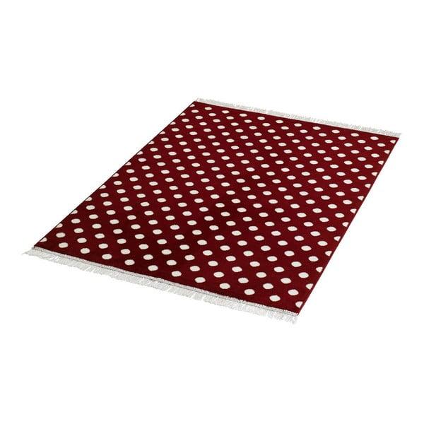 Dywan Fringe - czerwony, 140x200 cm