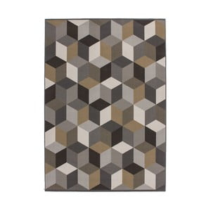 Dywan Stella 600 Multi Brown, 80x150 cm