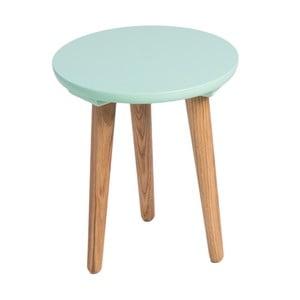 Zielony stół D2 Bergen, 30 cm