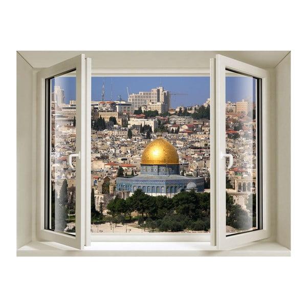 Naklejka 3D Fenêtre Jerusalem