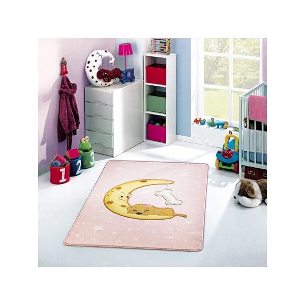 Dywan dziecięcy Moon Pink, 133x190 cm