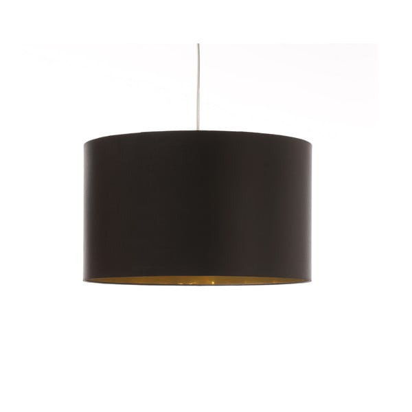 Czarno-złota lampa sufitowa 4room Artist, zmienna długość, Ø 42 cm