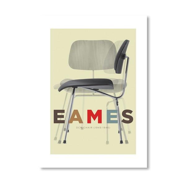 """Plakat autorski """"Eames DCM Chair"""""""