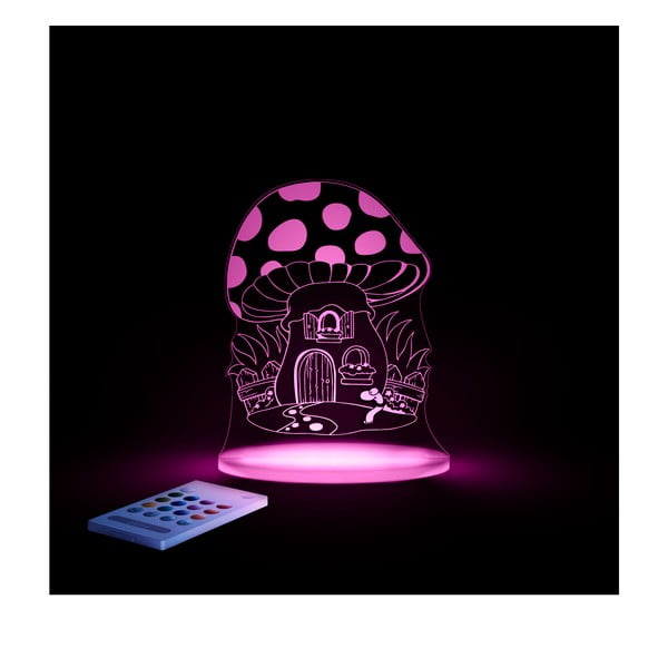 Dziecięca lampka nocna LED Aloka Muchomor