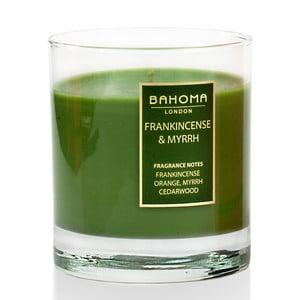 Świeczka   zapachowa Bahoma Noel, zapach kadzidła i mirry, 75 godzin