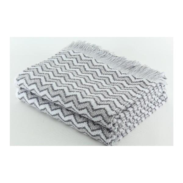 Zestaw 2 ręczników Lora Steel, 70x140 cm