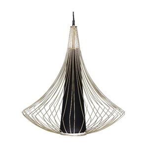 Lampa sufitowa Golden Cage, 57x71,5 cm